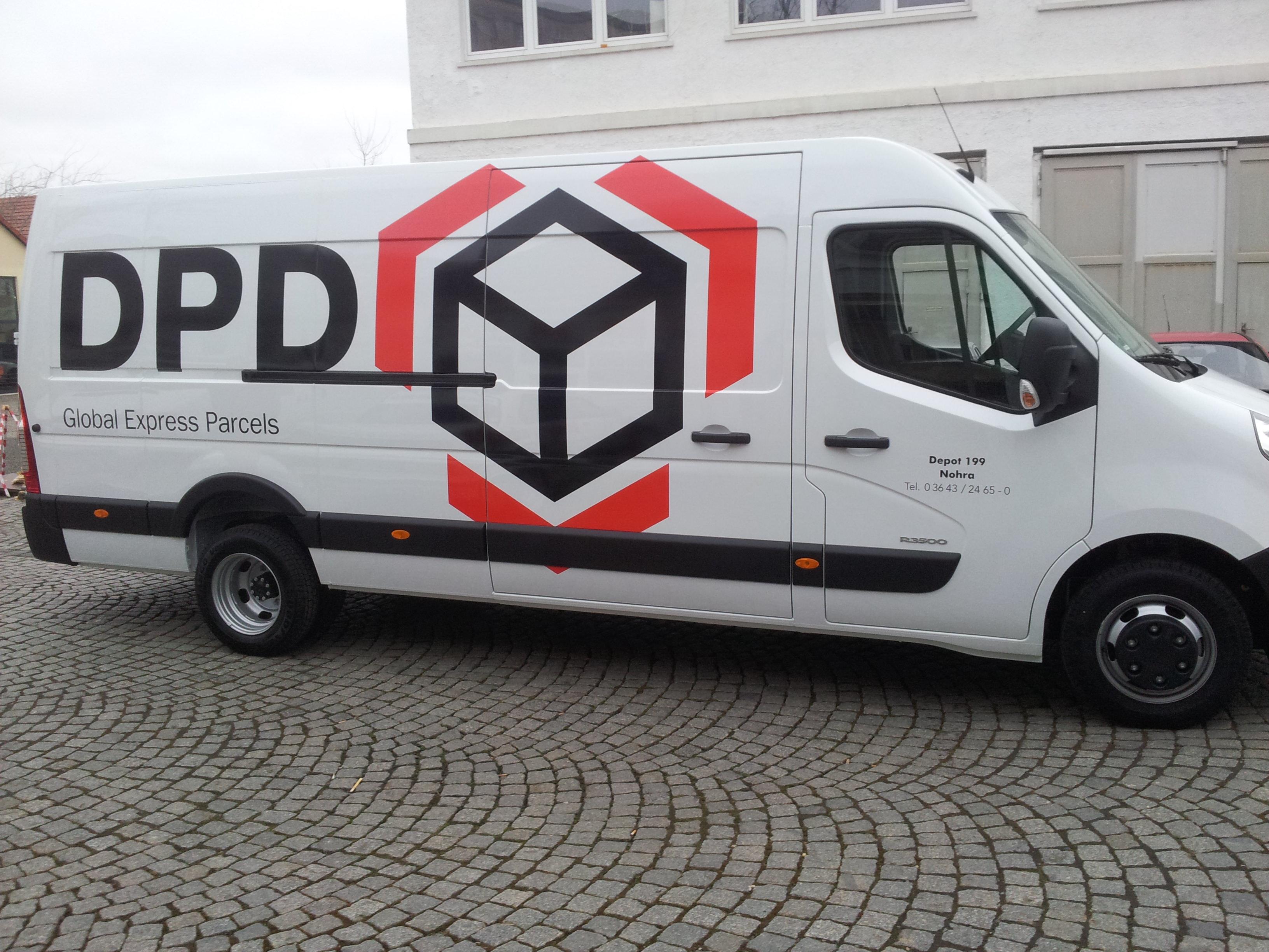 Fahrzeugbeschriftung DPD