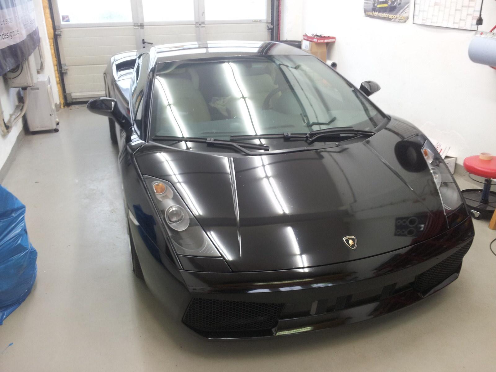 Steinschlagschutz Lamborghini Gallardo