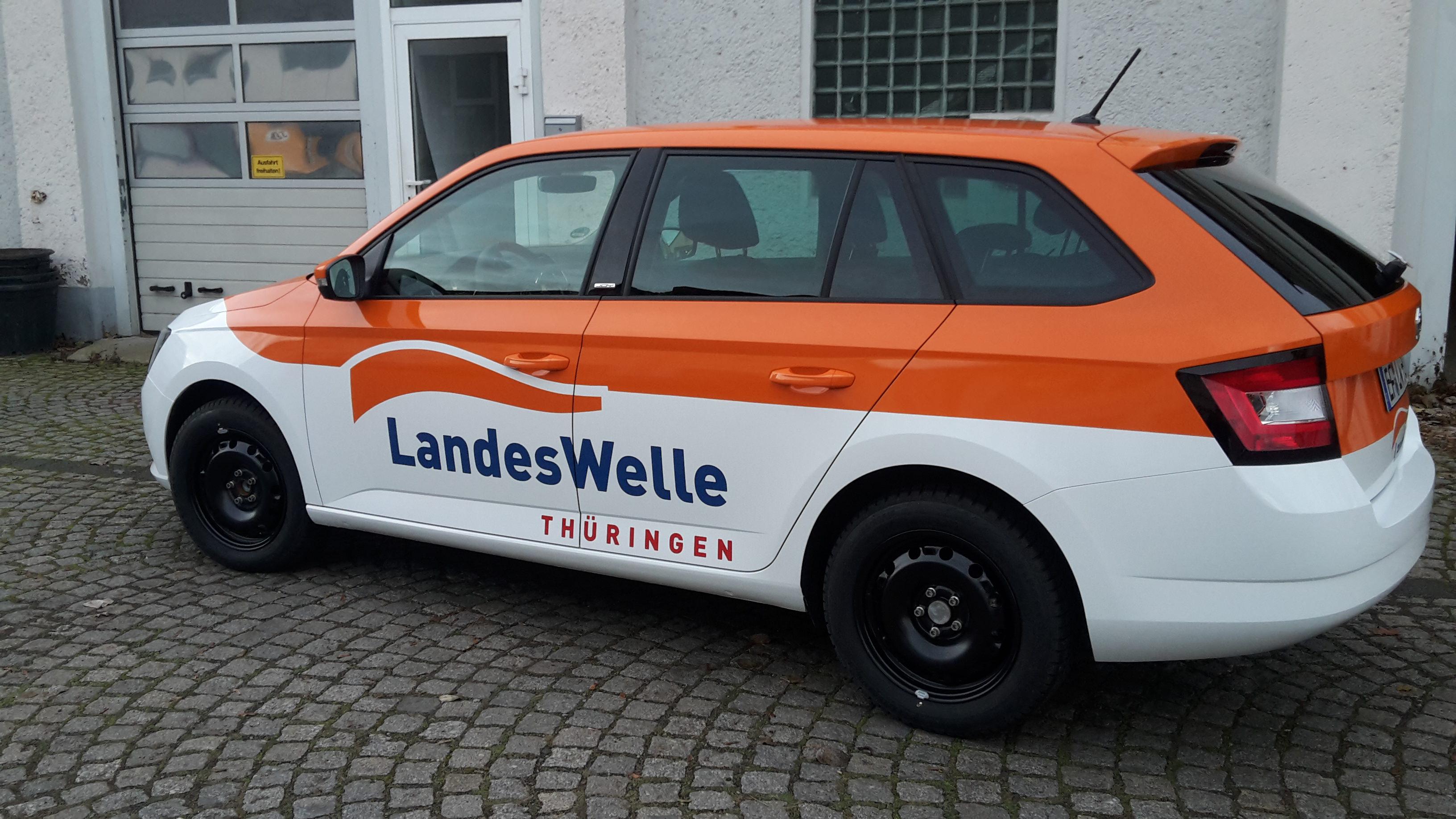 Fahrzeugbeschriftung Landeswelle