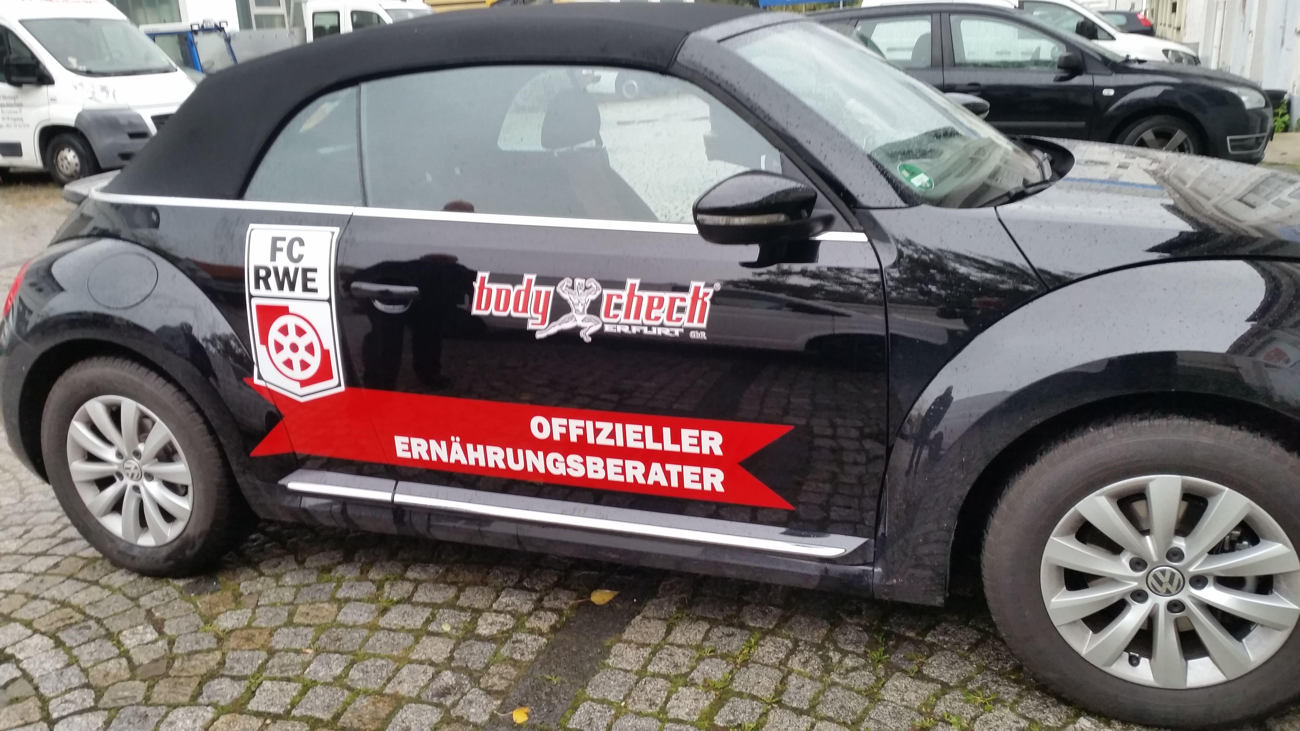 Fahrzeugbeschriftung BodyCheck Erfurt