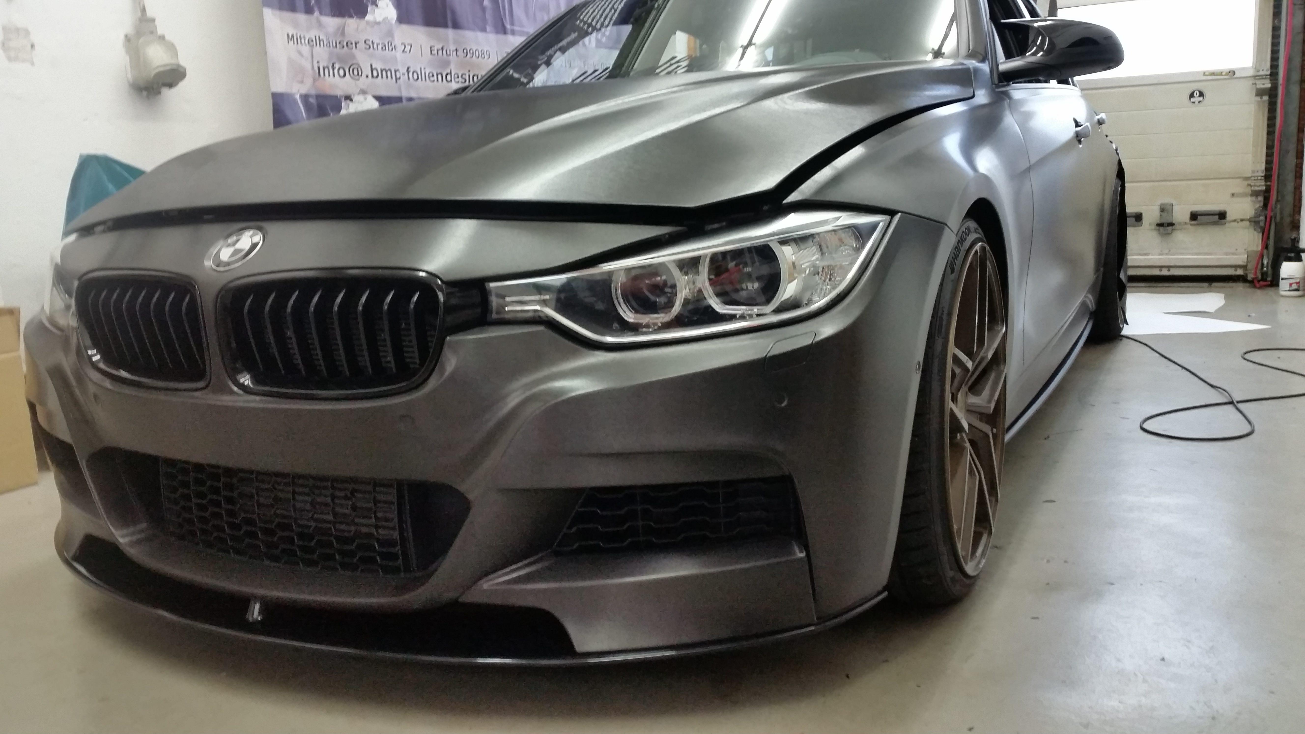 Komplettfolierung BMW